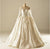 Open Back Long Sleeves Sweetheart Satin Wedding Dresses Best Bride Gown - NICEOO