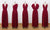 Burgundy Convertible Dresses, Infinity Bridesmaid Dresses, Multiway Dresses