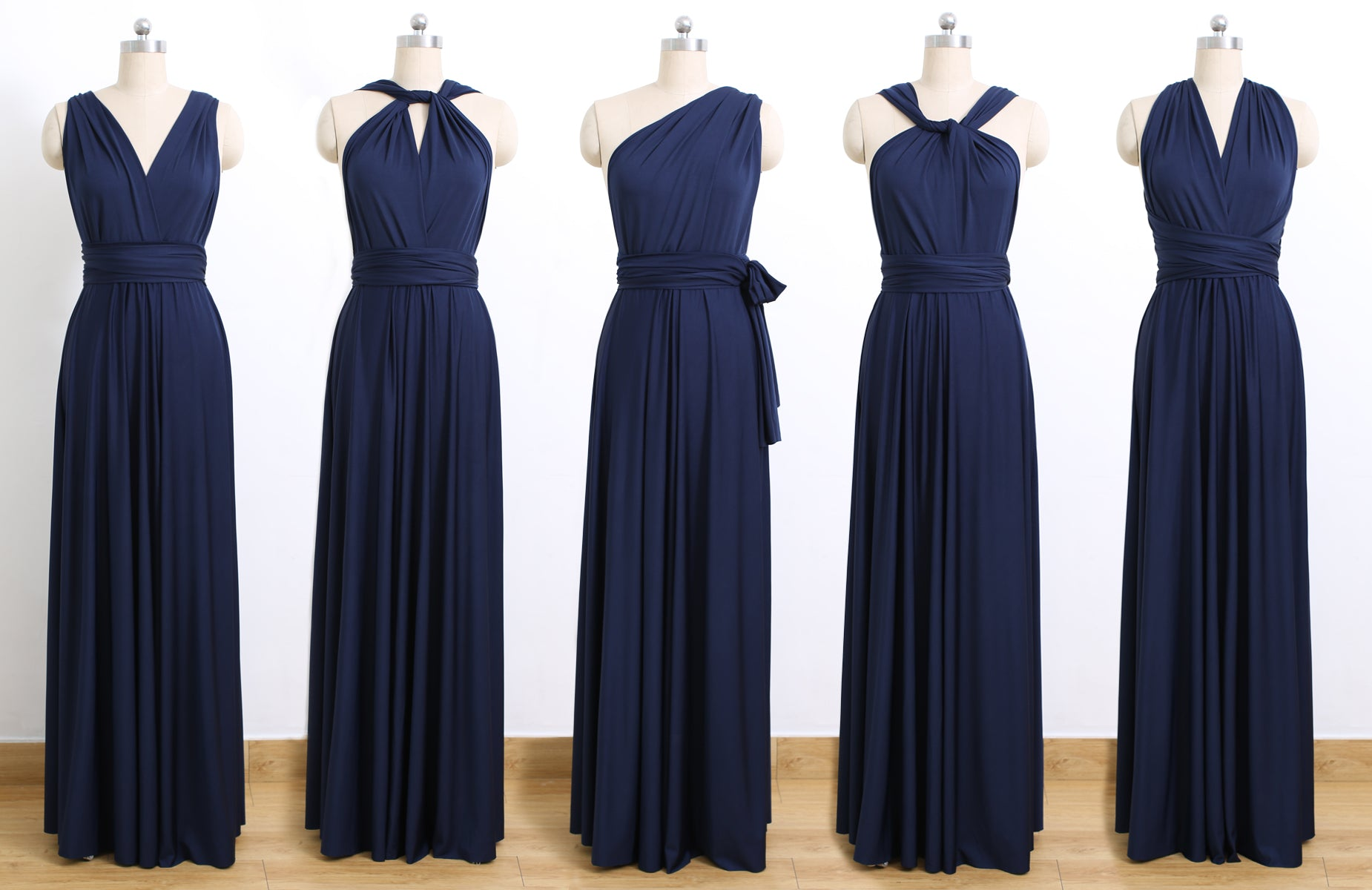 6fb2b20775 Navy Blue Infinity Dresses
