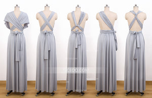 Gray Multiway Bridesmaid Dresses,Convertible Dresses, Infinity Dresses