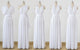 White Infinity Bridesmaid Dresses,Convertible Dresses, Multiway Wrap Dresses