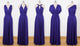 Purple Infinity Dresses,Convertible Dresses, Multiway Bridesmaid Dresses