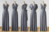 Dark Gray Convertible Bridesmaid Dresses,Infinity Dresses, Multiway Wrap Dresses