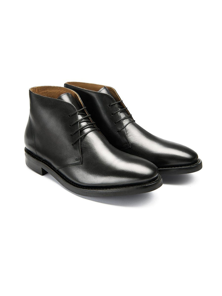 Prestige Kensington Boot - Rubber Sole - Black