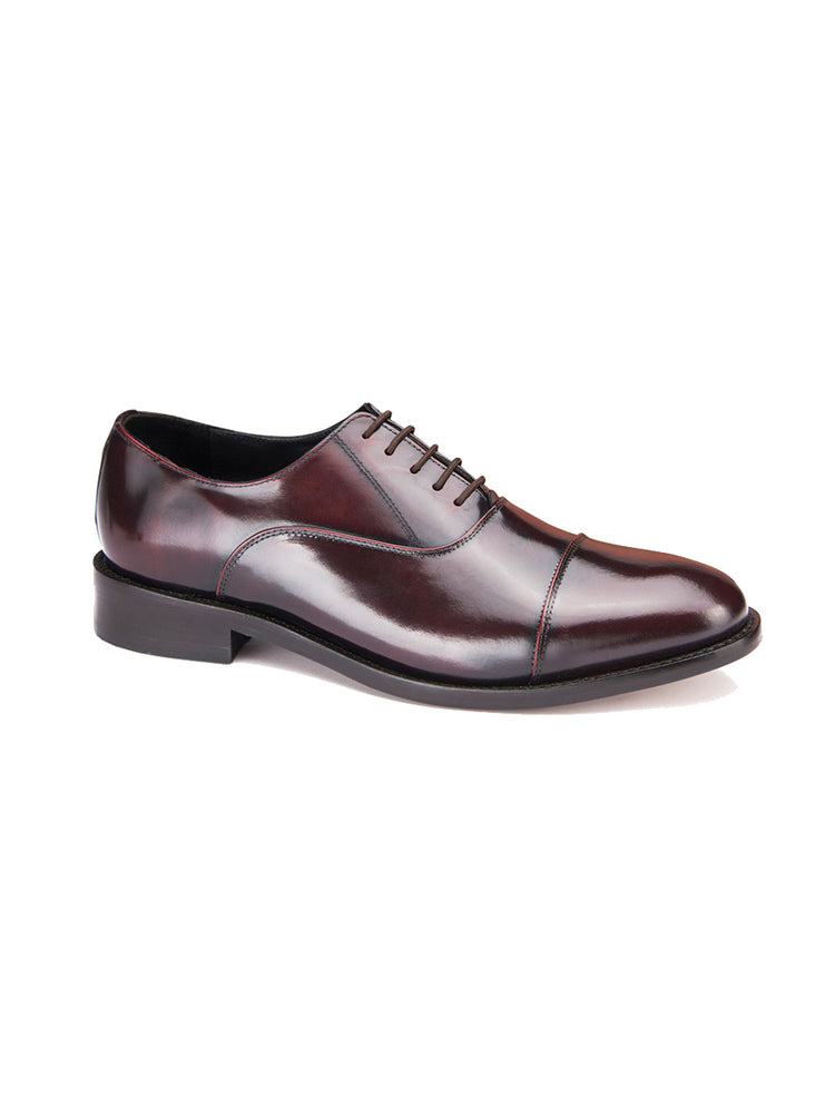 Classic Oxford Shoe - Oxblood