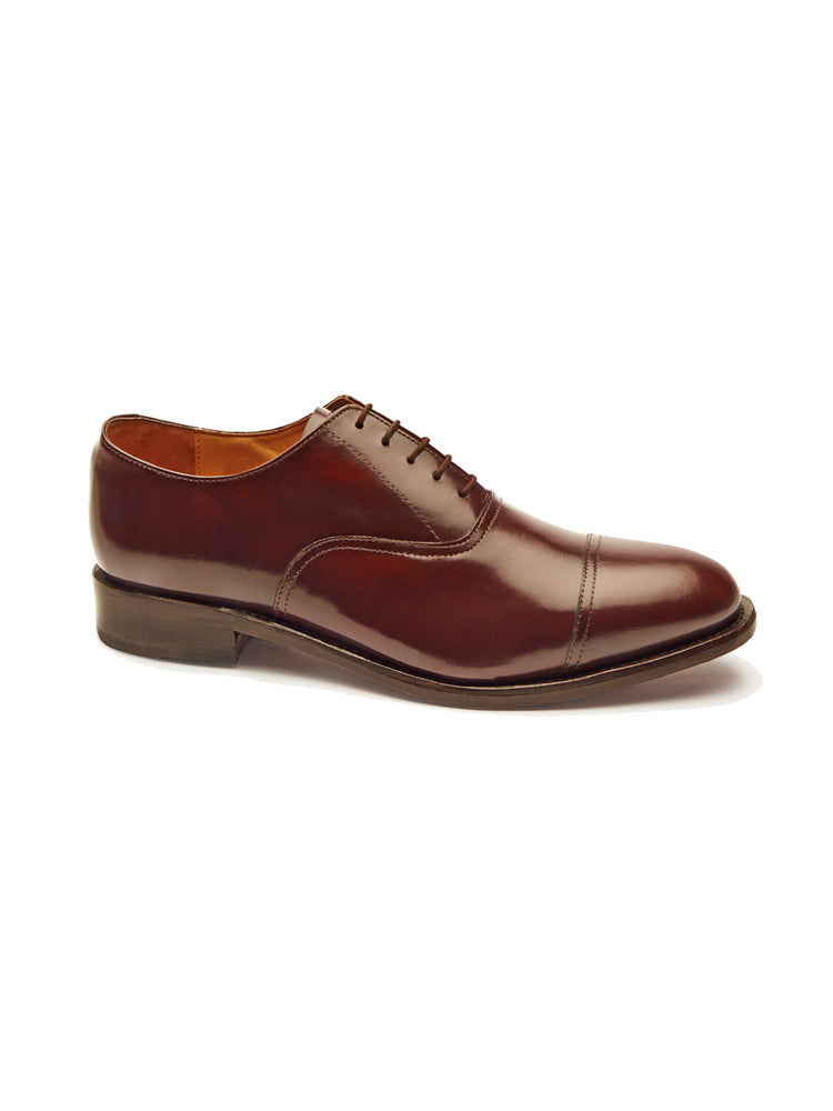 Classic Oxford Shoe - Chestnut Brown