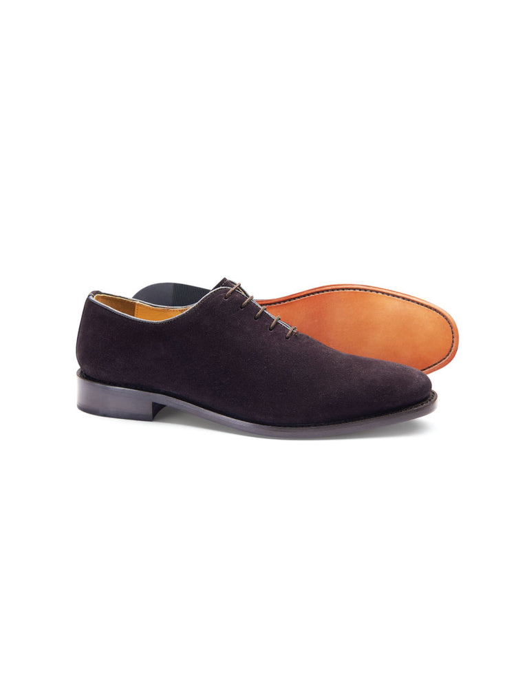 Classic Derby Shoe - Suede