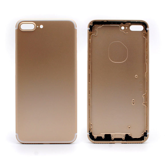 Back Cover Housing Compatible With iPhone 7 Plus iPhone Parts TexasWireless1 Gold
