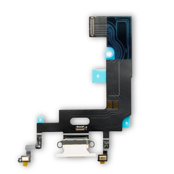Charging Port Flex Cable for iPhone XR iPhone Parts TexasWireless1 White