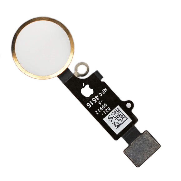 Compatible Home Button Main Key with Flex Cable Replacement for iPhone 8 and 8 Plus iPhone Parts TexasWireless1