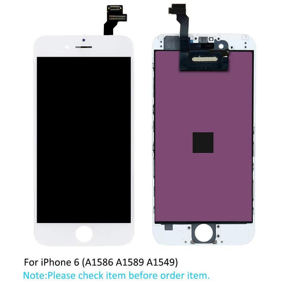 iPhone 6 Screen Replacement LCD iPhone Parts TexasWireless1 White