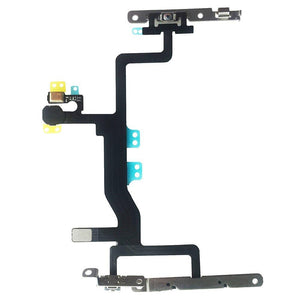 New OEM Switch On/Off Power Button + Volume Control + Flash Light + Mic + Mute Connector Flex Cable w/Bracket Replacement Part for iPhone 6s 4.7 iPhone Parts TexasWireless1