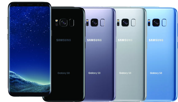 Samsung Galaxy S8 Unlocked 64GB With Free Case And Free Tempered Glass Unlocked Smart Phone TexasWireless1