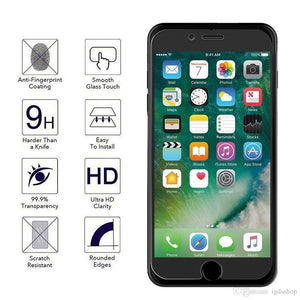 Tempered Glass iPhone 7/7 Plus Screen Protector Pack of 3 Screen Protector TexasWireless1