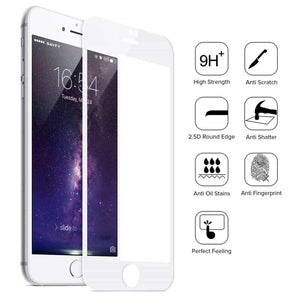 Tempered Glass Screen Protector Designed for iPhone 8/8 Plus pack of 3 Screen Protector TexasWireless1