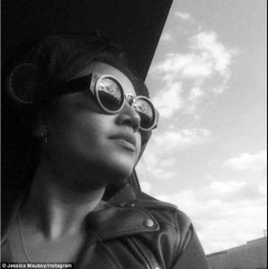 Jessica Mauboy wear Isson 'Martha' sunglasses