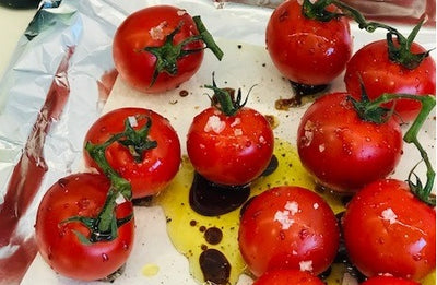 Simply Stirred Balsamic Roasted Tomatoes