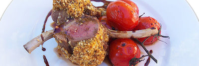 Dukkah Crusted Lamb Racks