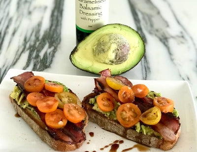Simply Stirred Smashed Avocado