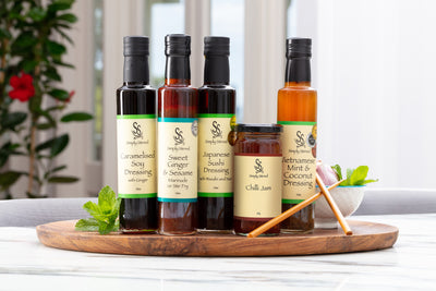 Simply Stirred Asian Fusion Marinades and Dressings