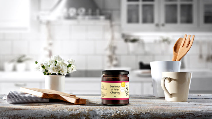Simply Stirred - Beetroot and Pear Chutney 270g Jar