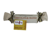 Chocolate and Orange Pudding 800g - Log in cloth