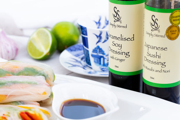 Simply Stirred - Caramelised Soy Dressing with Ginger 250ml Bottle