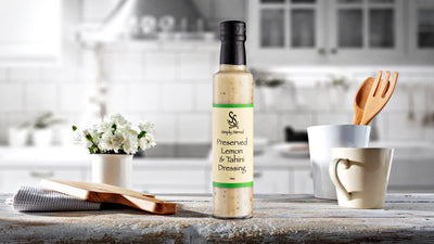 Simply Stirred -  Preserved Lemon and Tahini Dressing 250ml Bottle