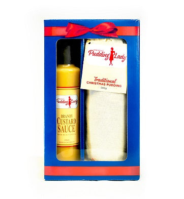 Gift Pack - Our Favourite Pudding and Sauce - Boxed