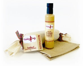 Gift Pack - Our Favourite Pudding and Sauce - In our new Navy Jute Bag - Large