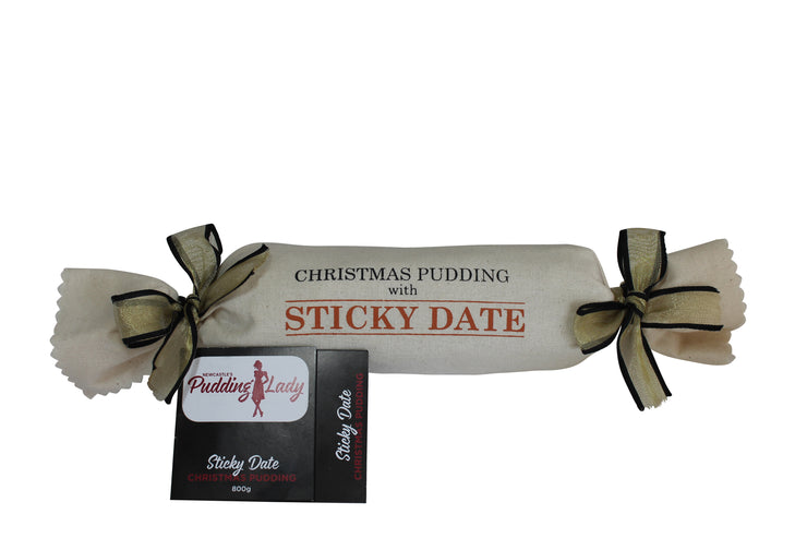 Sticky Date Pudding 800g - Log in cloth