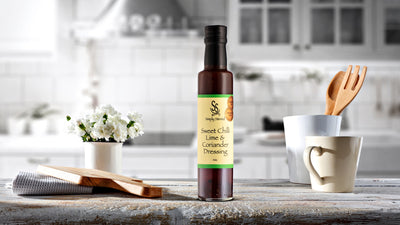Simply Stirred - Sweet Chilli Lime and Coriander Dressing 250ml Bottle