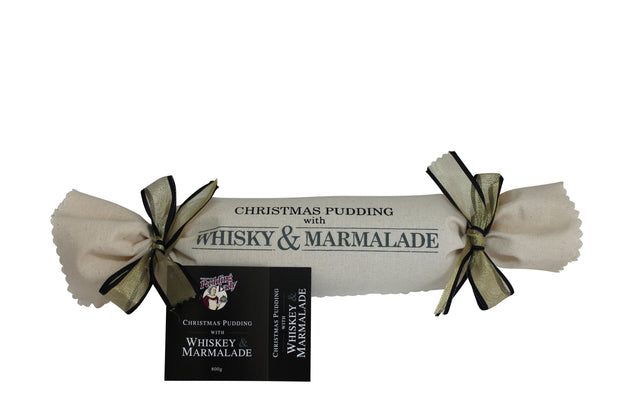 Whiskey and Marmalade Pudding 800g - Log in cloth
