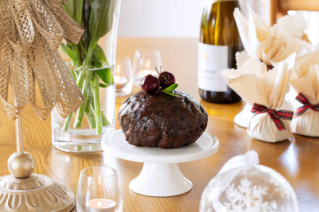 Traditional Christmas Pudding - Round in cloth