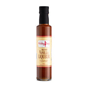 Brandy Vanilla Liqueur Sauce 250ml bottle - Vegan Friendly
