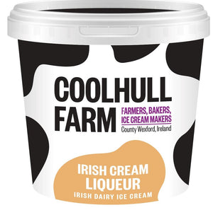 Coolhull Farm Single Serve Irish Cream Liqueur Ice Cream 125ml