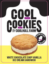 Load image into Gallery viewer, Coolhull Farm White Chocolate Chip Vanilla Ice Cream Sandwich