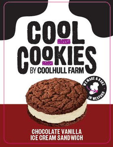 Coolhull Farm Chocolate Vanilla Ice Cream Sandwich