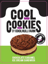 Load image into Gallery viewer, Coolhull Farm Chocolate Caramel Ice Cream Sandwich
