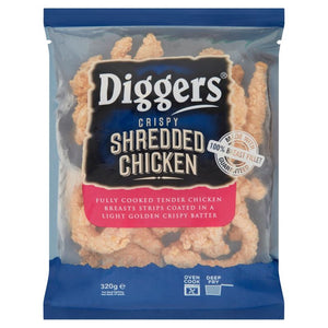 Diggers Crispy Shredded Chicken 320g