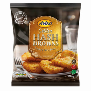 Aviko Golden Hash Browns 630g