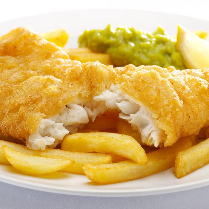 Fish Shop Battered Cod Fillets 4 Pack