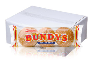 Johnston Mooney & O'Brien Seeded Burger Bundys 48 Box