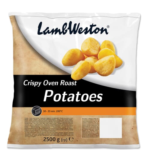 Lamb Weston Crispy Roast Potatoes 2500g