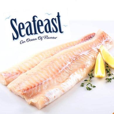 Seafeast Atlantic Skinless & Boneless Cod Fillets 2 Pack