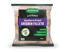Load image into Gallery viewer, Glenhaven Southern Fried Chicken Fillets 8 Pack
