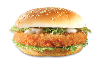 Big Al's Breaded Chicken Burger 20 Pack