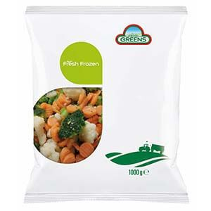 Greens Frozen Farmhouse Mixed Veg 1kg