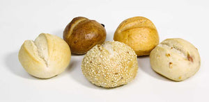 Mini Gourmet Bread Rolls Assorted 18 Pack