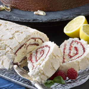 Patisserie Royale Strawberry Roulade